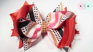 Laço De Fita Ribbon Bow Tutorial #12 DIY by Elysia Handmade Top TEN...