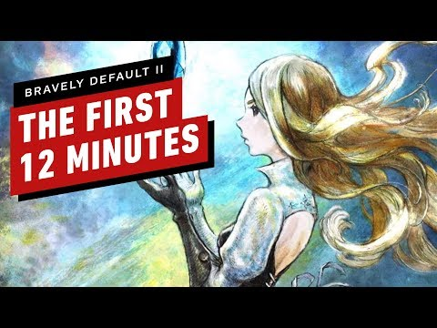 The First 12 Minutes Of Bravely Default 2 Gameplay (Demo Version)