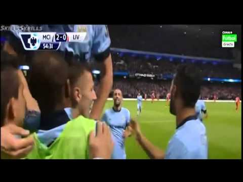 All Goals & Highlights Manchester City 3 1 Liverpool   25 08 2014 EPL   YouTube