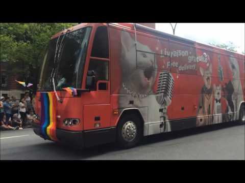 Gay Pride Parade in Montreal