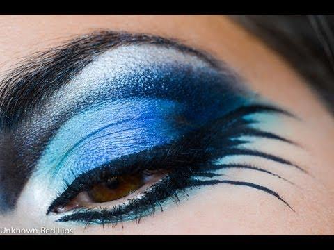 Blue Bird Inspired Makeup Tutorial