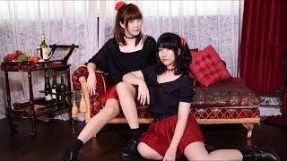 Momoko & リリコ~ 雙ko登場~~ 初次合作就跳了 '虎視眈眈', 有些動作有...