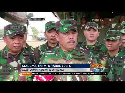 TNI Kirim Satgas Ke Maluku Utara