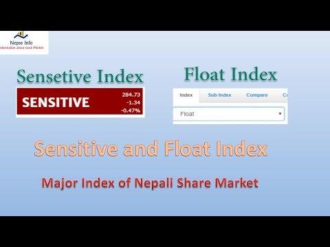 Nepse Sensitive Index and Float Index