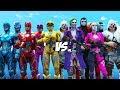 Team Joker & Harley Quinn VS Team Power Rangers (2017)