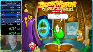 Bookworm Adventures Volume 2 (PC) Adventure Mode in 1:37:22
