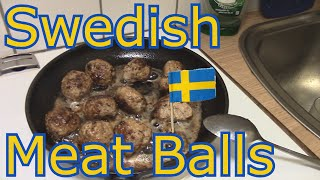 Cooking With Anderzel E02 - Swedish Meat Balls