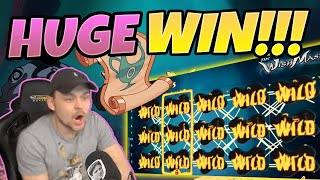 MEGA WIN! Wishmaster BIG WIN - Huge Win on Casino slot from CasinoDaddy