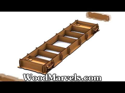 Build Your Own Wooden Shuffleboard Game (HD)!