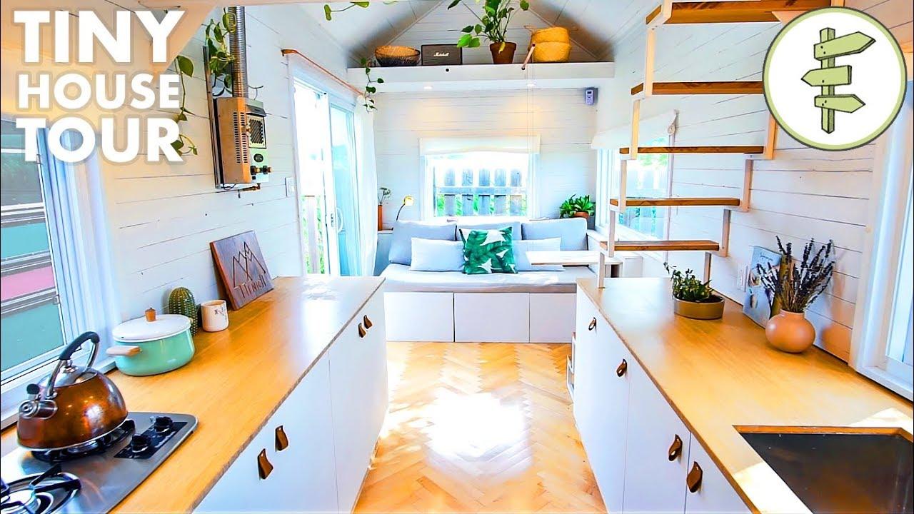 Tour This Spacious DIY Tiny House with Transforming Furniture