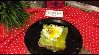 Тост с авокадо и яйцом пашот: рецепт от Foodman.club