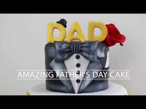 AMAZING Fathers Day Cake