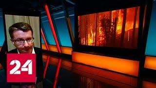 Дым от страшных пожаров в США добрался до Европы: почему молчит общественность? - Россия 24