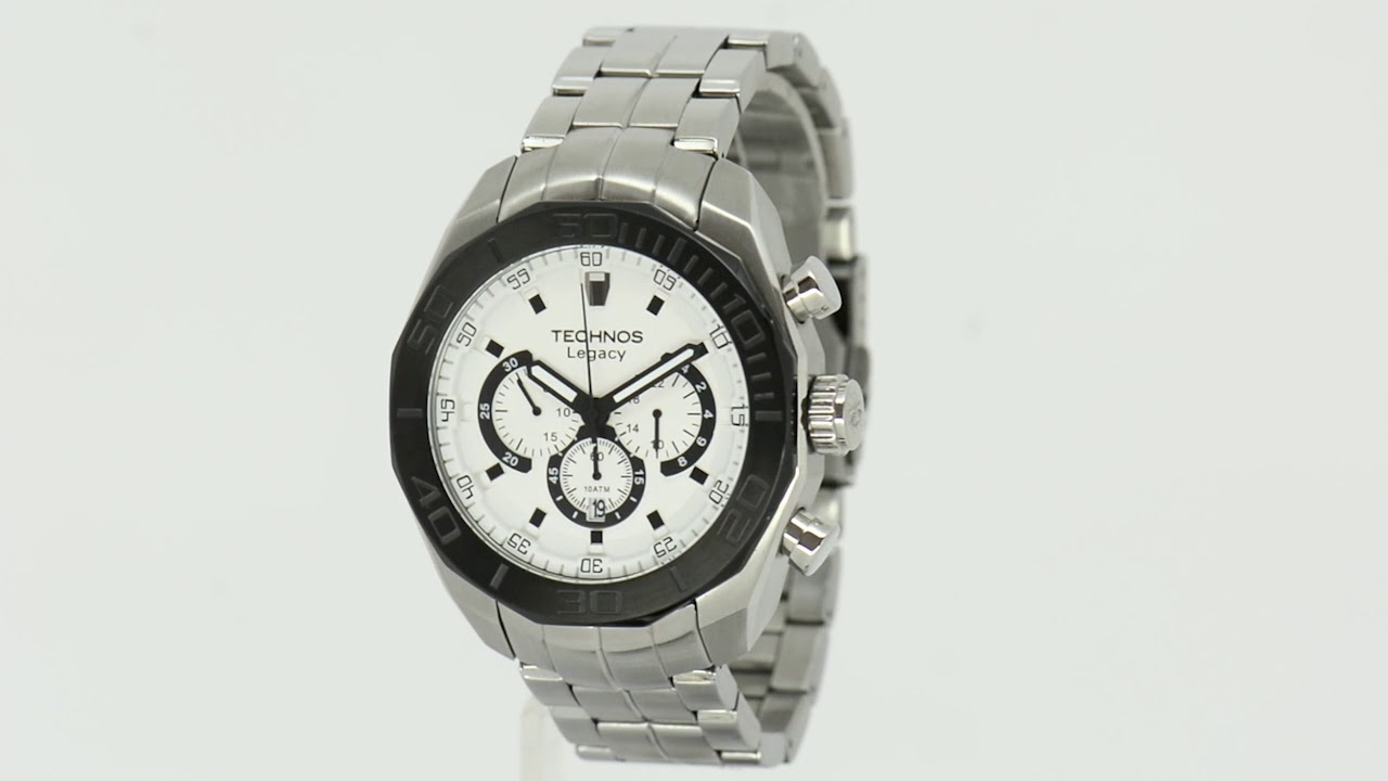 62406beec6ee7 Relógio Technos Masculino Classic Legacy JS25AS 1K - Eclock - YouTube