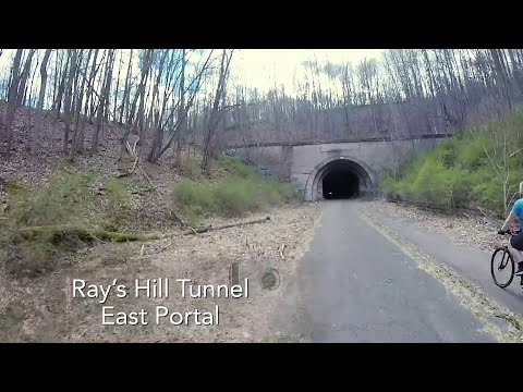 Biking The Abandoned Pennsylvania Turnpike