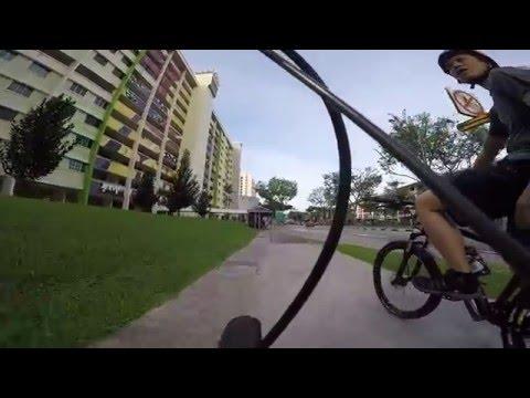 GoPro: Cycling Yishun to Mandai - Singapore Zoo (via Sembawang Rd - Mandai Ave - Mandai Rd)
