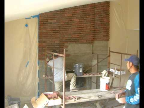 "Brick Fix - ""Fireplace Makeover"" - Brick Repair / Concrete ..."