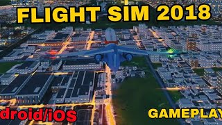 Flight sim 2018 (by ovilex software) Android Gameplay