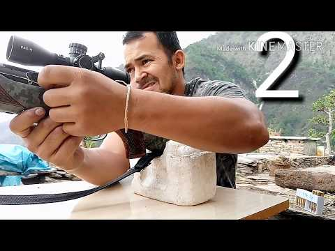30-06 rifle how to installing scope and zeroing part 1