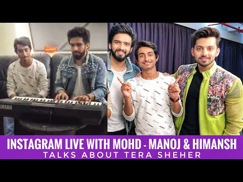 Download Lagu  Amaal Mallik Instagram Live With Himansh K & Mohd K || Talks About Tera Sheher || SLV 2019 Mp3 Free