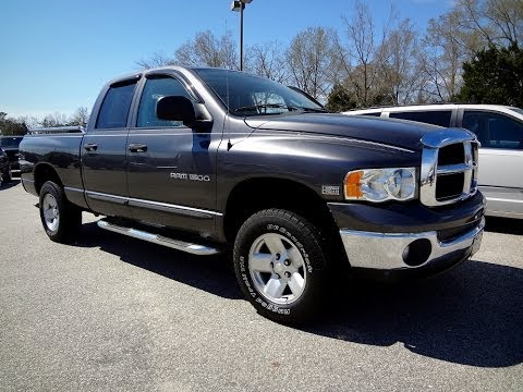 2003 DODGE RAM 1500 QUAD CAB - YouTube