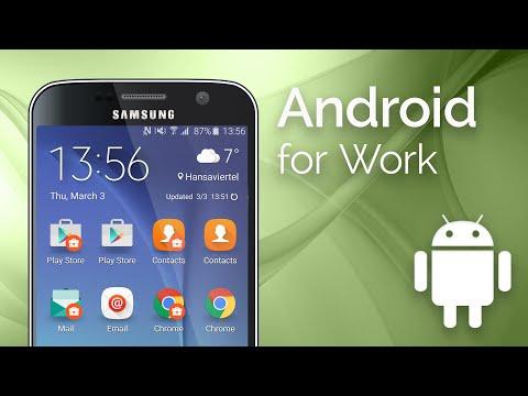 Wie richtet man Android For Work ein?