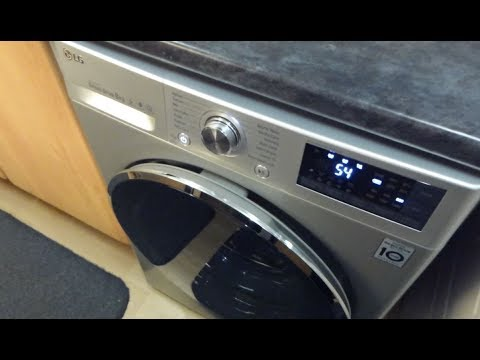 LG Washer FH4U2TDN2L 8KG 6 Motion Turbowash (2017) - Overview and functions