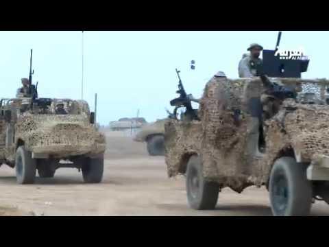 فيديو الملك سلمان في حفر الباطن وشاهد مخططات رعد الشمال HD