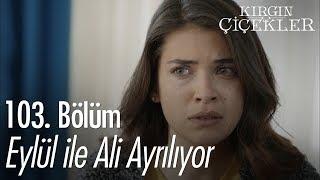 Eylül ile Ali ayrılıyor - Kırgın Çiçekler 103. Bölüm