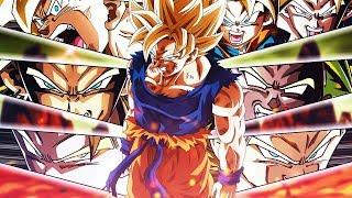 The BEST Super Saiyan Team FINALLY Assembled! Dragon Ball Z Dokkan Battle