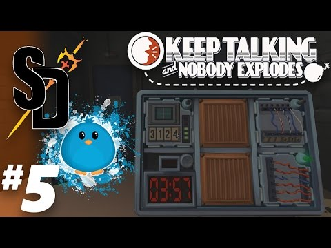 Parallel.. Ports? | Keep Talking and Nobody Explodes! ft. CeruChick Ep. 5