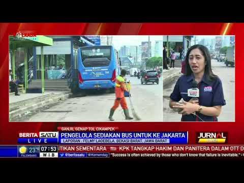 BPTJ Sediakan Bus dari Tol Cikampek ke Jakarta
