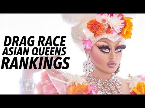 DRAG RACE Asian Queens Ranking