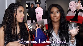 Rating GRAMMY RED CARPET LOOKS w/ my BFF!