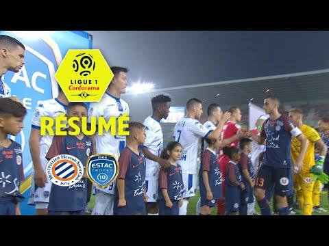 Montpellier Hérault SC - ESTAC Troyes ( 1-1 ) - Résumé - (MHSC - ESTAC) / 2017-18
