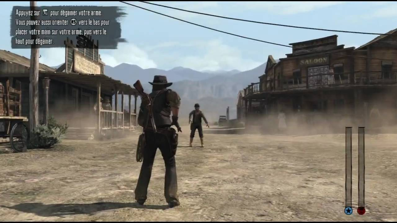 Red Dead Redemption - Gameplay - Duel - FR HD