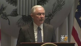 Jeff Sessions Takes On Gangs On LI