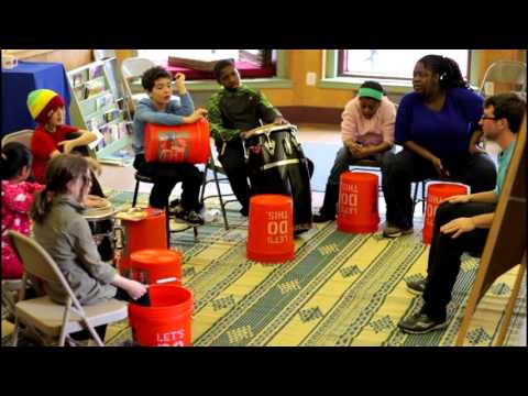 Project Learn School - Theme Week: Afro-Cuban Drumming