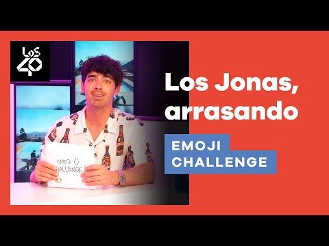 EMOJI CHALLENGE: ¡Los JONAS BROTHERS se juegan sus vidas