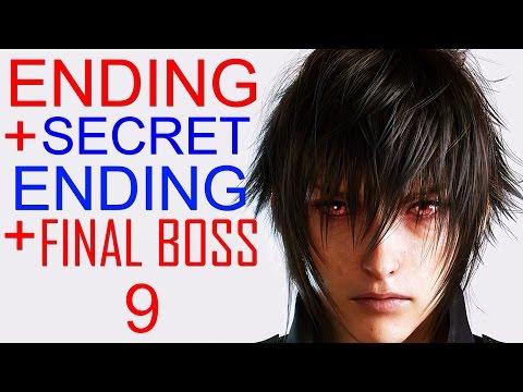 Final Fantasy XV Ending Secret Ending Final Boss Final Fantasy 15