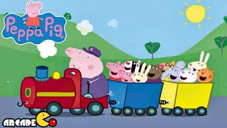 Peppa Pig Nickelodeon Peppa Pig on Grandpa Pig's Train - New Peppa Pig 2015 Toy Collection