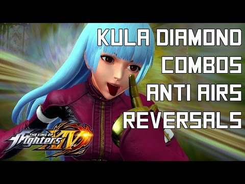 Kula Diamond Quick Combo Guide - The King of Fighters XIV (KOFXIV)