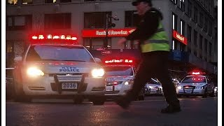 Police Cars Siren Mix Sound Effect rumbler sirens and horns 2015 HD ©