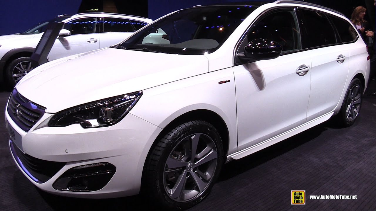 2015 peugeot 308 sw gt line puretech 130hp exterior interior walkaround 2015 geneva motor. Black Bedroom Furniture Sets. Home Design Ideas