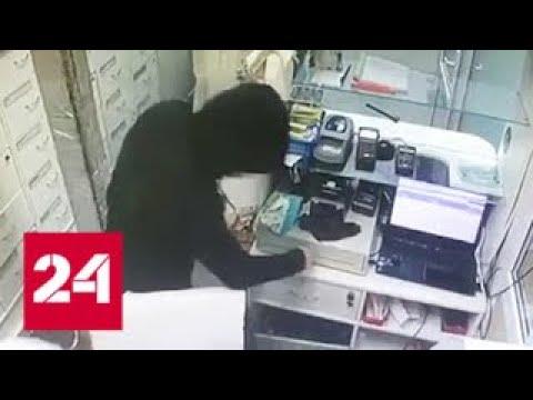 На юге столицы налетчики ворвались в аптеку и украли все деньги - Россия 24