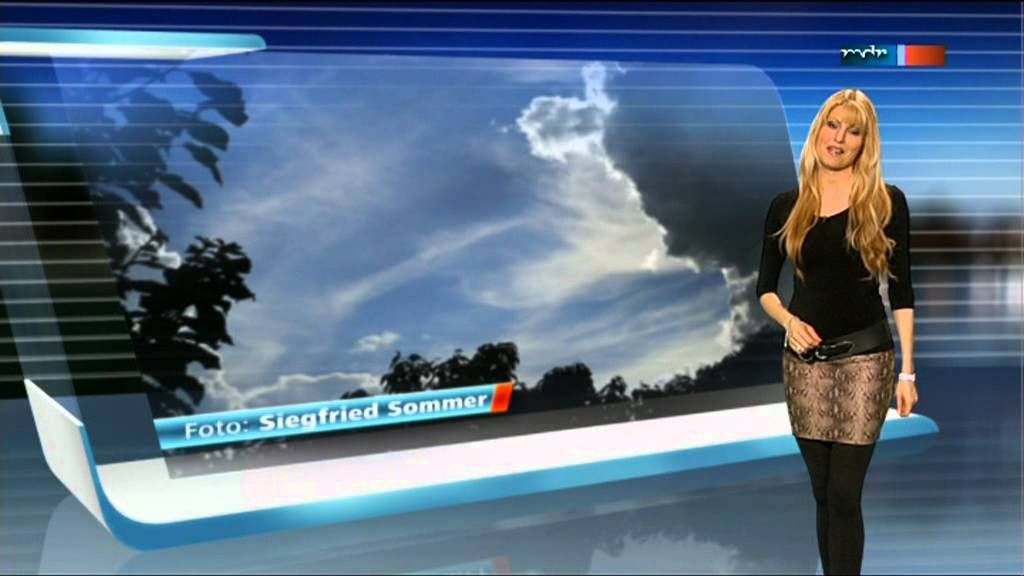 Maira rothe weather girl - 3 part 1