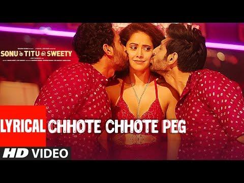 Chhote Chhote Peg (LYRICAL) | Yo Yo Honey Singh | Neha Kakkar | Navraj Hans | Sonu Ke Titu Ki Sweety