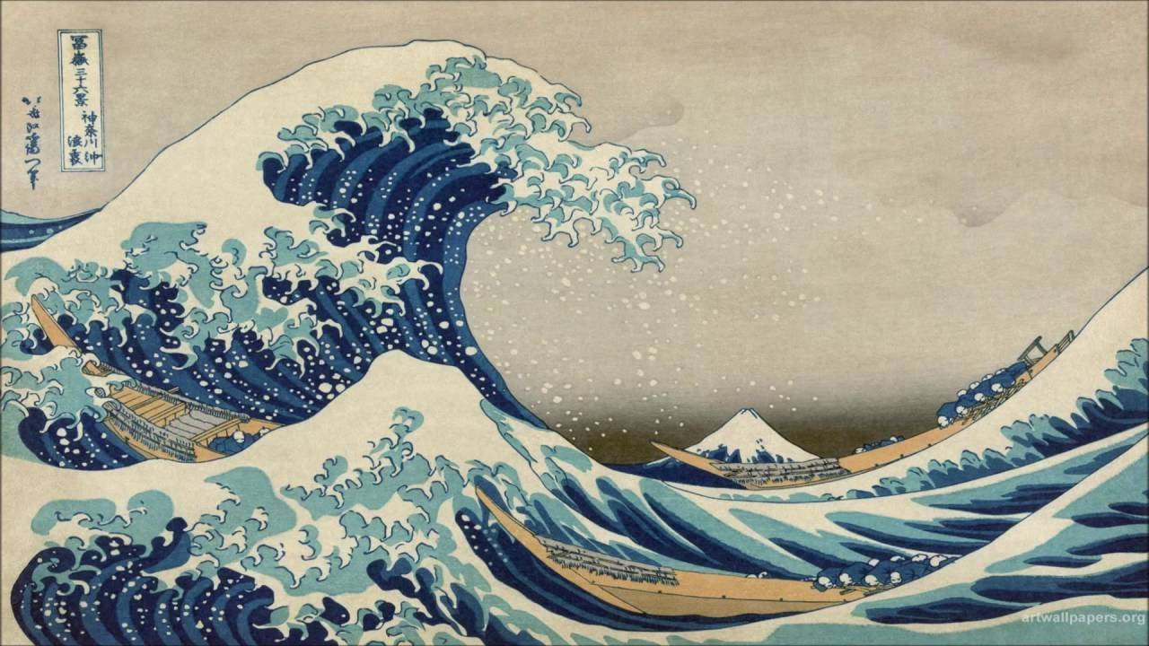 analysis of the great wave off
