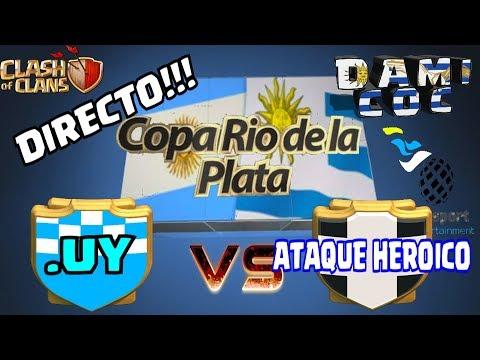 DIRECTO!!! por copa Rio de la Plata - .UY vs ATAQUE HEROICO