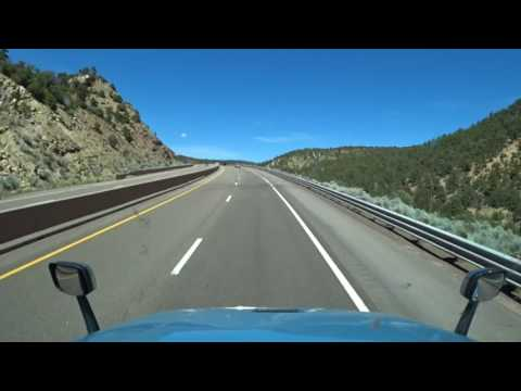 4736 A long strait New Mexico road